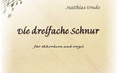 """M. Drude: """"Die dreifache Schnur"""" – Vorwort"""